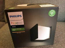 Philips Hue Fuzo White LED Smart Outdoor Wall Light