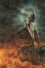 """LUIS ROYO POSTER """"THE HOUR HAS ARRIVED"""""""