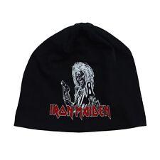 Iron Maiden Killers Band Album Logo Beanie Hat Eddie The Head Heavy Metal Fan