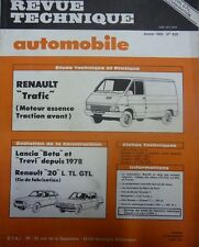 NEUF ! Revue technique RENAULT TRAFIC ESSENCE TRACTION AVANT  EXPERT N° 429 1983