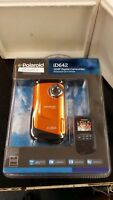 Polaroid iD642 12MP Digital Camcorder Waterproof Orange, New in Package!