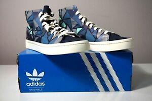 Adidas Originals Court Vantage Mid Lace Up Geometric Women's Shoes S78851 Size 9