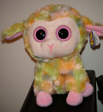 "Ty Beanie Boos ~ BLOSSOM the 9"" Big Lamb Medium Buddy Size ~ NEW with MINT TAGS"