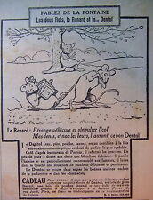 PUBLICITÉ DENTOL FABLES DE LA FONTAINE LES 2 RATS LE RENARD ET LE .... DENTOL