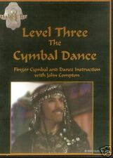 Hahbi Ru Level 3 The Cymbal Dance, Tribal Belly Dance and Zill Instruction DVD