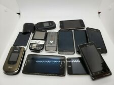Lot of 12 phones/ipod for repairs. Used. Working/non working condition