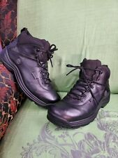 Timberland  Waterproof Hiking Black Leather Boots  Size 15W.