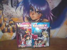 Kirameki Project Vol 1,2 - Complete Collection - BRAND NEW DVD Anime Works 2005