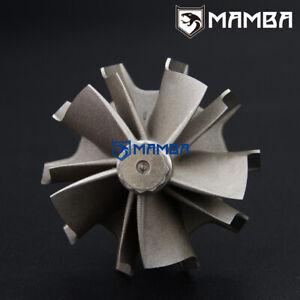 MAMBA D5 (5+5) Turbine Shaft Wheel For Mitsubishi SAAB VOLVO TD04HL (45.6/52)