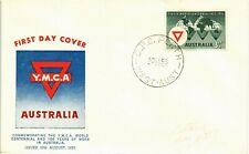 DR JIM STAMPS YMCA WORLD CENTENNIAL FIRST DAY ISSUE AUSTRALIA COVER