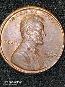 1969-S LINCOLN MEMORIAL PENNY PCGS PR67 RAINBOW COLOR TONED BEAUTY! *TRUEVIEW*