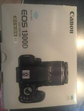 Canon EOS 1300D Digital SLR Camera - Black