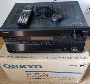 ONKYO TX-SR606 7.1 Channel 110 Watt Receiver