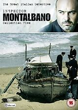 INSPECTOR MONTALBANO - COLLECTION FIVE - DVD - REGION 2 UK
