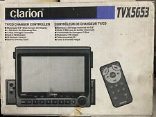 """New OLD SCHOOL Clarion TVX5653 Motorized 5.8"""" TC/CD Changer controller,NIB,NOS"""