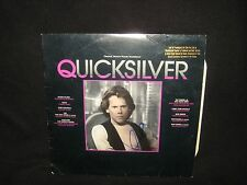 Kevin Bacon Signed QUICKSILVER Soundtrack Vynl LP Record