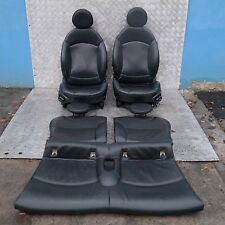 BMW Mini Cooper Uno R56 Sports Full Cuero Negro Interior Asientos Con Airbag