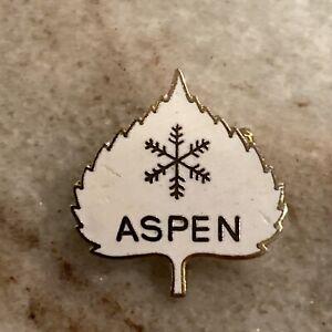 Aspen Ski Pin Colorado Snow Skiing Winter Sports Very Small