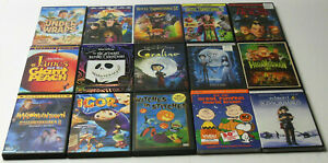HALLOWEEN DVD Lot 7 NEW Hotel Transylvania Coraline Halloweentown Peanuts Disney