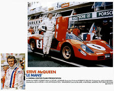 Steve McQueen - Le Mans Movie Poster, 8x10 Color Photo