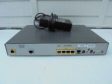 Cisco 881G-K9 con Power Cube. Ethernet router de red cableada. Ccna