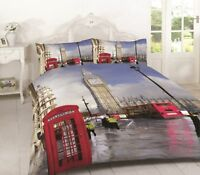 Luxury London duvet cover with pillowcases set double king super king size new