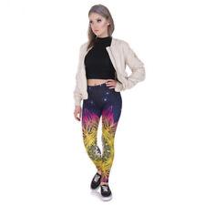 Leggings de mujer sin marca color principal multicolor