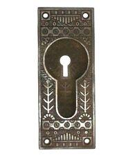 "Antique Eastlake Pocket Door Pull 5 5/16"" x 2 1/8"""