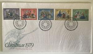 GB QEII 1979 Christmas POFDC Bethlehem SHS Typed Address With Insert (2)