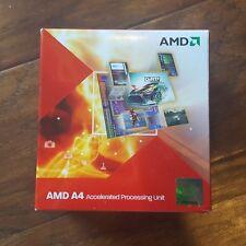 New AMD Fusion A4-3300 2.5GHz Dual-Core (AD3300OJHXBOX) Processor