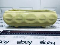 Vintage USA Cookson American Pottery Planter CP 559 Soft Lime Green