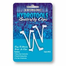 Hydrotools Skimmer Net Pole Butterfly Clips, 3-Pack