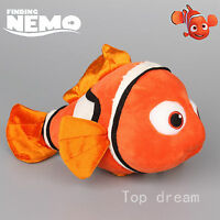 New Finding Nemo Red Fish Figure Plush Soft Doll Stuffed Toy 9'' Teddy Kids Gift