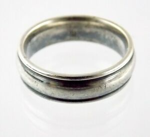 James Avery Sterling Silver Band Ring 925 Size 8.5 Weighs 7 Grams 6.27mm Thick