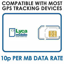 2G Sim Card For GPS Tracker Tracking Pay As You Go Compatible Old Type Sim Card