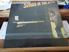 Billy Joel‎–Songs In The Attic  Mobile Fidelity Sound Lab–MFSL 2-386 2014 NEW