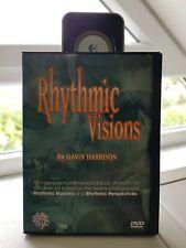 Rhythmic Visions by Gavin Harrison Drums Drum Lessons DVD Schlagzeug Drum DVD
