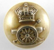 Victorian Royal Artillery Tunic Button 22mm - Genuine - Hobson & Sons - British