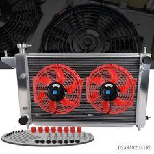 "For 1994 1995 FORD MUSTANG GT/GTS/SVT 3.8L 5.0L MT Aluminum Radiator + 10"" Fan"
