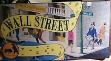 VINTAGE 1986 Wall Street Board Game Stock Market & Business New Sealed
