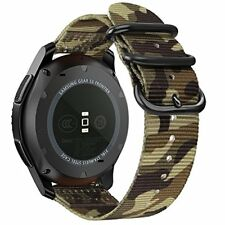 Samsung Galaxy Watch 46mm Gear S3 Camo Camouflage Bands Band Classic Frontier Gr