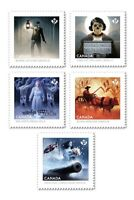 HAUNTED CANADA = GHOSTS OF CANADA = DIE CUT Set = MNH Canada 2015#2861i-65i