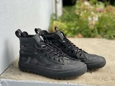 Vans Sk8-Hi MTE 2.0 DX Woodland Camo & Black Shoes Men's 8.5 Worn Twice Rare