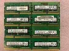 Lot of 8, DDR4 4GB SO-DIMM RAM (Laptop RAM)