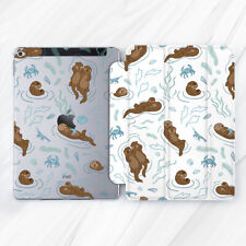Cute Otter Animal Kawaii Kid Case For iPad 10.2 Air 3 Pro 9.7 10.5 12.9 Mini 4 5