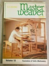 MASTER WEAVER LIBRARY, VOLUME10, BY S. A. ZIELNSKI,1981.FASCINATION OF TWILLS
