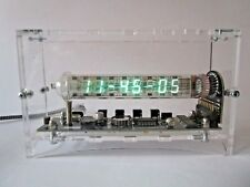 100% ASSEMBLED w enclosure Ice tube clock IV-18 VFD nixie clock horloge rohre in