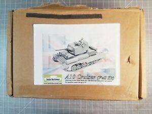 EXTREMELY RARE! Inside the Armour 1/35 British A10 Cruiser Cast Resin Kit.