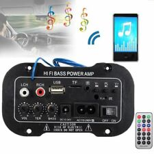 220V Car Bluetooth 2.1 Hi-Fi Bass Power AMP Mini Auto Car Amplifier Stereo Radio