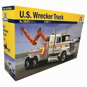 ITALERI 3825 U.S. Wrecker 1:24 Model Truck Kit